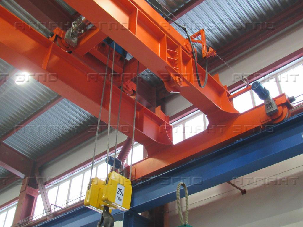 Эксплуатация мостовых кранов от завода Атлант