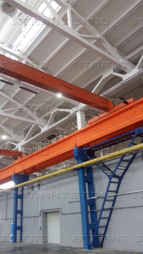 Концевая балка мостового крана от производителя
