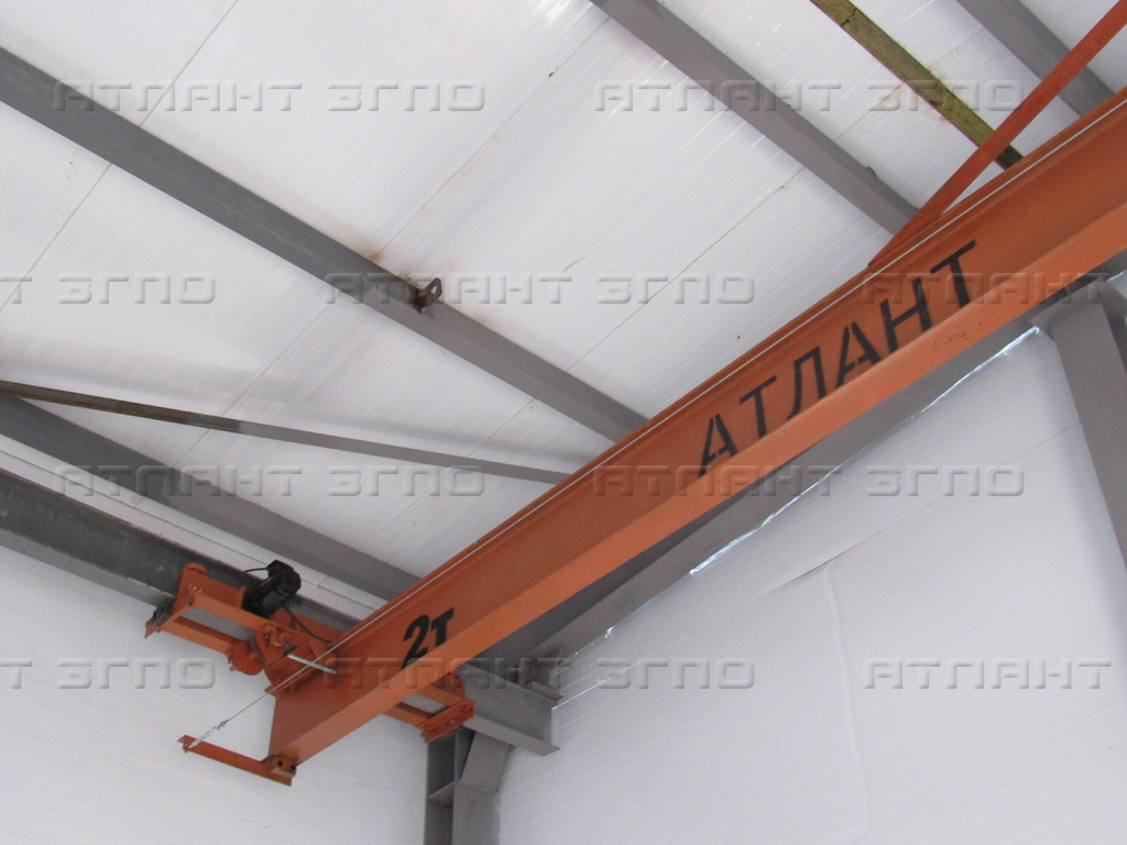 Кран мостовой подвесной электрический от завода производителя