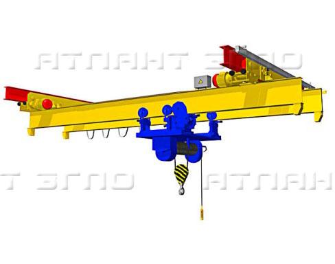 Кран ручной мостовой подвесной двухбалочный