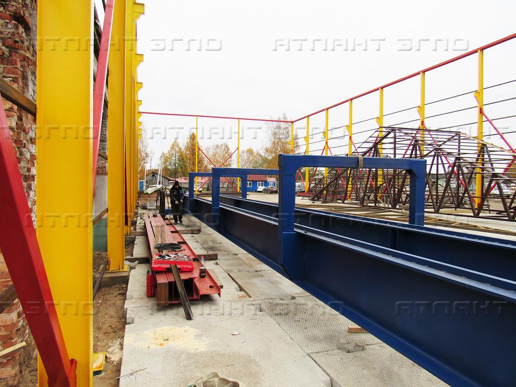Купить мостовой кран в Белгороде