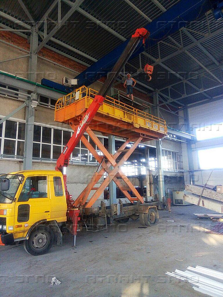 Купить мостовой кран в Челябинске