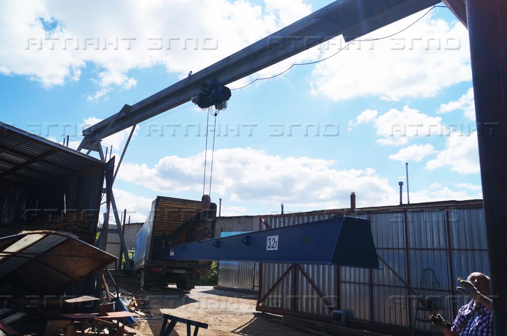Купить мостовой кран в Туле