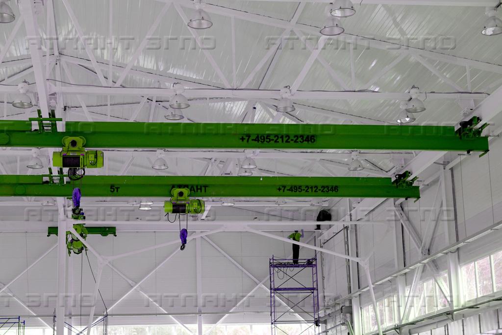 Мостовой кран 5 тонн: некоторые особенности и применение устройства