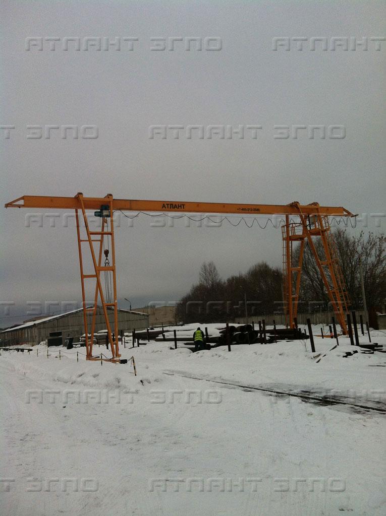 Мостовые и козловые краны от завода производителя