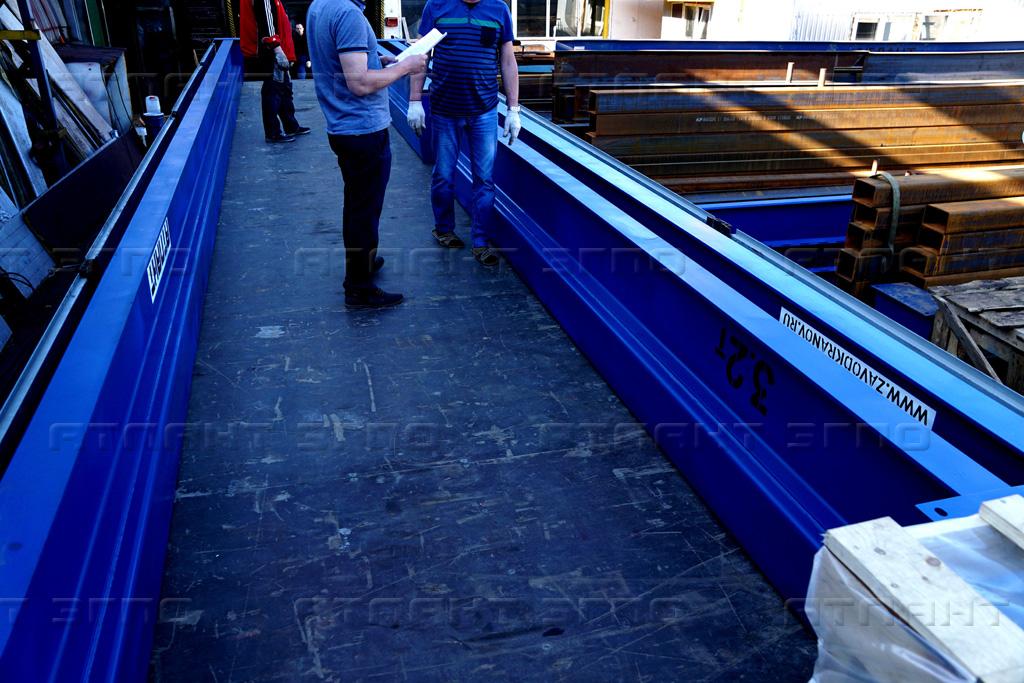 Мостовые краны назначение - крановый завод Атлант