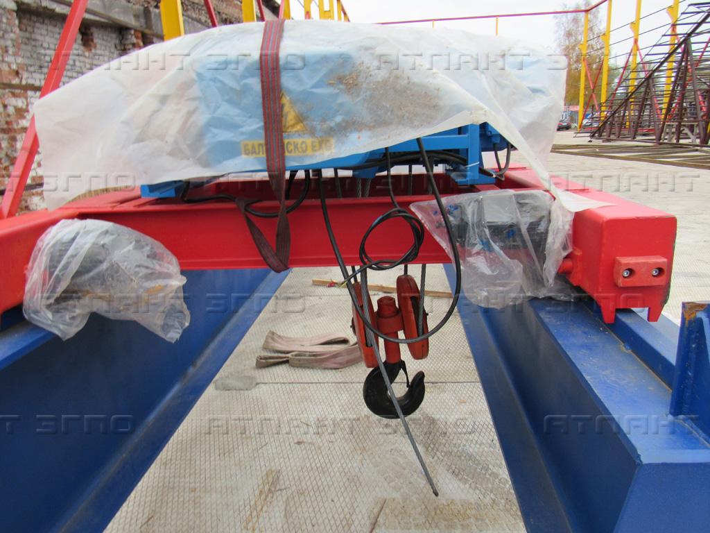 Как устроены тележки мостовых кранов? в крановой компании Атлант