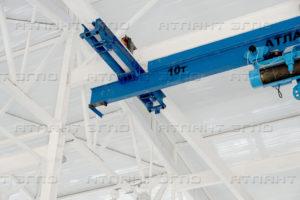 kran mostovoj 10 t 300x200 - Кран мостовой специальный мульдо грейферный