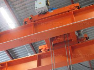 kran mostovoj 20 tonn a 300x225 - Кран мостовой специальный мульдо грейферный