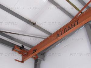 kran mostovoj podvesnoj elektricheskij 1 300x225 - Кран мостовой специальный мульдо грейферный