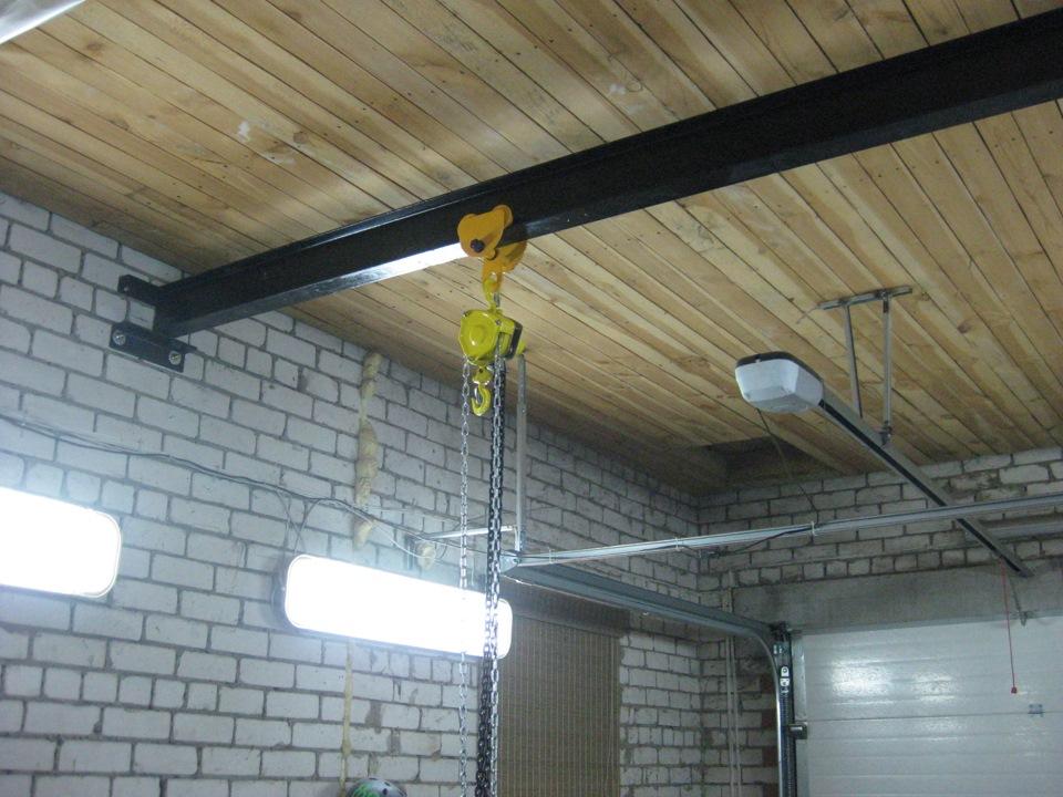 tal v garaje - Зачем нужен грузоподъемный механизм в гараже