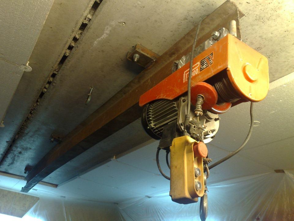 telfer dlya garazha - Зачем нужен грузоподъемный механизм в гараже