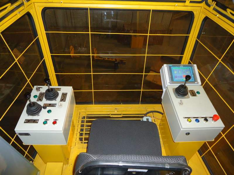 ustrojstvo kabiny mostovogo krana 01 - Устройство кабины мостового крана
