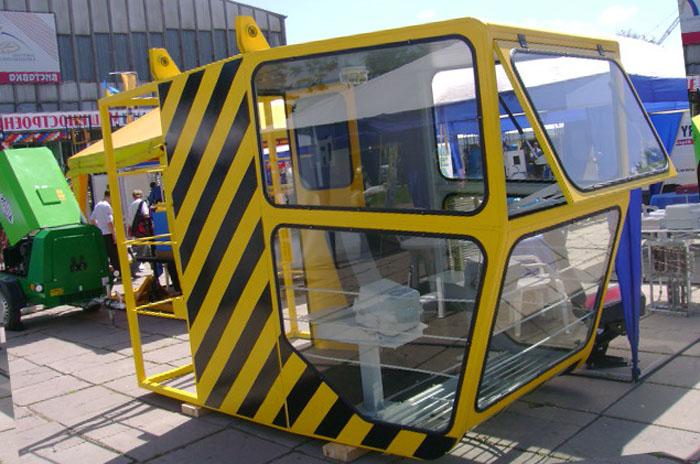 ustrojstvo kabiny mostovogo krana 03 - Устройство кабины мостового крана