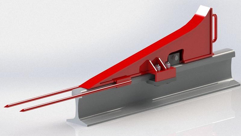 tupikovyjj upor 03 - Основные виды тупиковых упоров для мостового крана